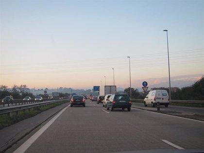 Seis heridos leves en los 20 accidentes registrados el fin de semana en las carreteras asturianas