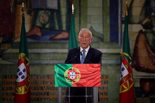 25 January 2021, Portugal, Lisbon: Portuguese President Marcelo Rebelo de Sousa speaks during a press conference after winning the Presidential Election. Photo: Pedro Fiuza/ZUMA Wire/dpa