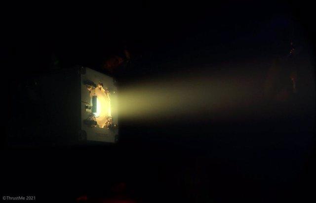 Imagen del nuevo propulsor a base de yodo