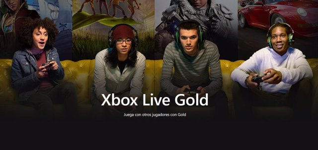 Suscripción Xbox Live Gold