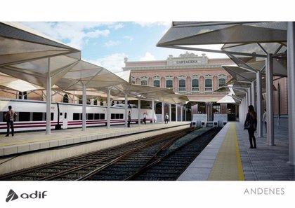 ADIF saca a licitación la rehabilitación integral de la estación de tren de Cartagena