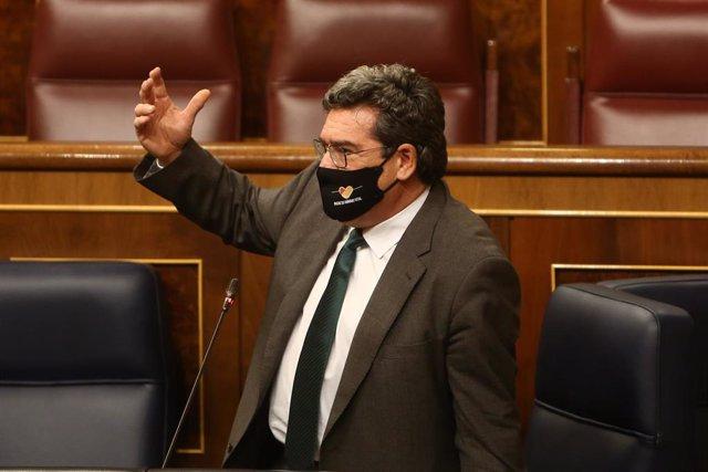 El ministro de Seguridad Social, Inclusión y Migraciones, José Luis Escrivá