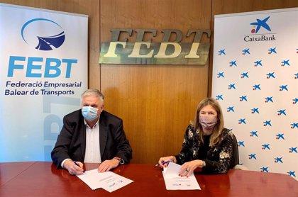 CaixaBank renueva su convenio de colaboración con la Federación Empresarial Balear de Transportes para apoyar al sector