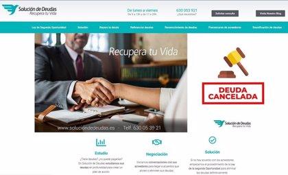 COMUNICADO: Solución de Deudas estrena nueva web y amplía su número de sedes en toda la geografía española