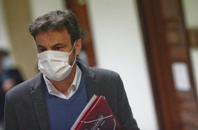 El president del Grup Unides Podem al Congrés, Jaume Asens