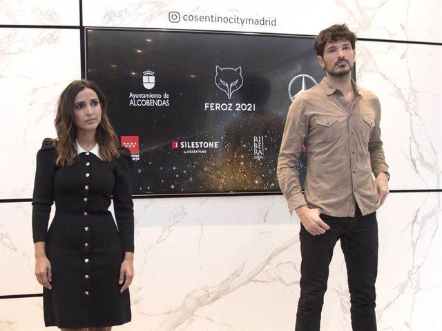 Inma Cuesta y Andrés Velencoso, encargados de leer los nominados a los Premios Feroz