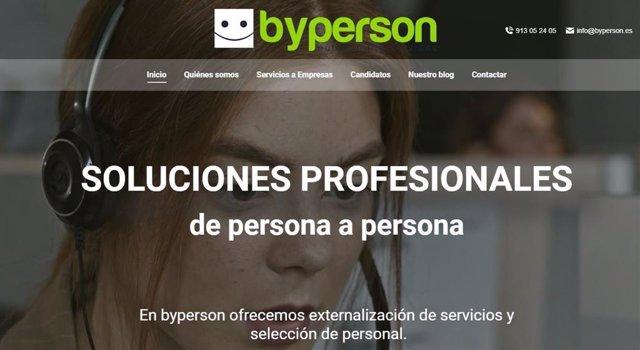 Byperson estrena web