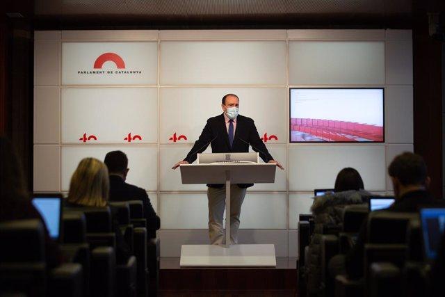El secretari general del PP català, Daniel Serrano