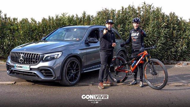 El ciclista Carlos Coloma se ha sumado al proyecto de WITL Con (vivir).