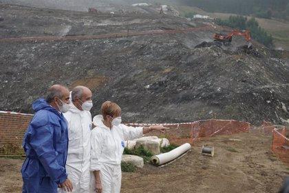"""Gobierno Vasco dice que los daños en Zaldibar han sido """"suficientes como para plantear el cierre definitivo"""""""