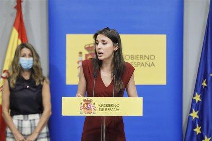 """El equipo de Irene Montero defiende su labor por un feminismo """"sin exclusiones"""", frente a las críticas por la Ley Trans"""