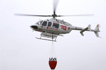 Cantabria incorpora un segundo helicóptero para reforzar emergencias, incendios e inundaciones