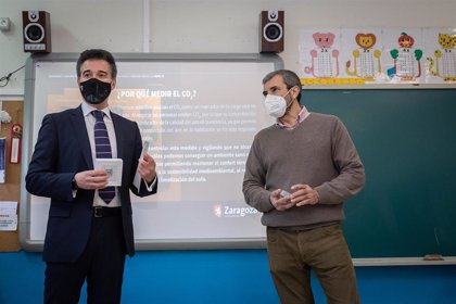 Urbanismo aplica un protocolo en colegios públicos de Zaragoza para garantizar el confort térmico y la calidad del aire