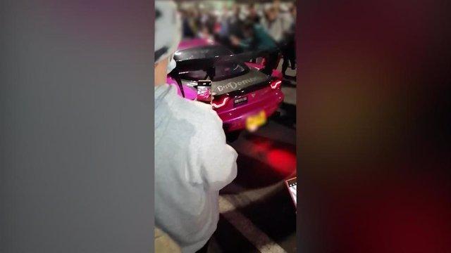 Encuentro de coches tuneados en San Miguel