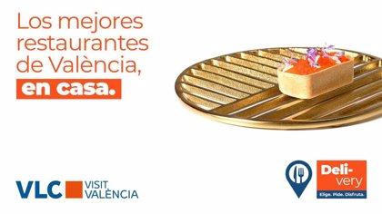 'Elige. Pide. Disfruta': campaña de Visit València para incentivar el consumo de restauración en casa