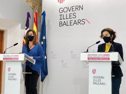 """La consellera Santiago asegura que no se siente """"desacreditada"""" cuando MÉS critica decisiones del Consell de Govern"""