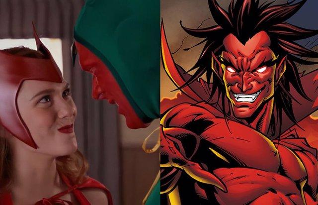 ¿Es Mephisto El Gran Villano De Bruja Escarlata Y Visión (Wandavisión)?