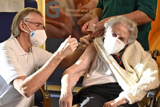 Campanya de vacunació contra la covid-19 a Àustria.