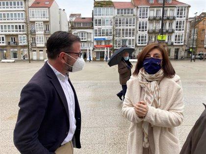 El Ayuntamiento solicitará a la Xunta que se declare Área Rexurbe el barrio de Ferrol Vello
