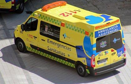 Un fallecido y un herido tras colisionar un camión y una furgoneta en Montorio (Burgos)