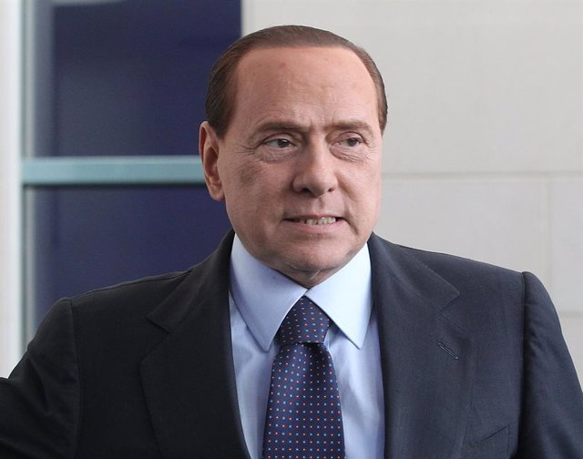El ex primer ministro italiano y líder de Forza Italia, Silvio Berlusconi