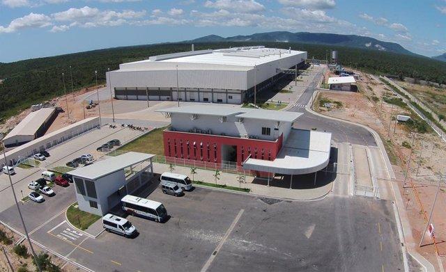 Planta que ha adquirit Roca Group al Brasil.