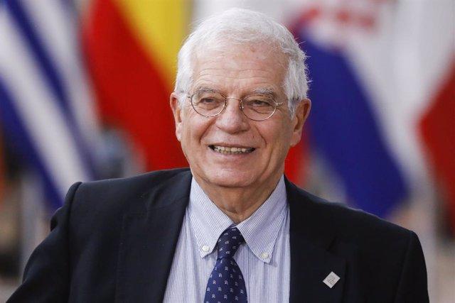 Josep Borrell en Bruselas
