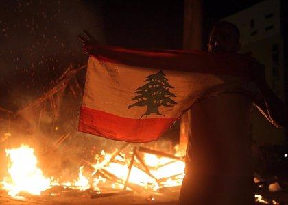 Protestas con enfrentamientos en Líbano contra las medidas del Gobierno para frenar la COVID-19
