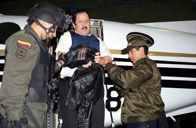 Hernán Giraldo Serna, alias 'El Patrón', antiguo jefe de las Autodefensas Unidas de Colombia (AUC).