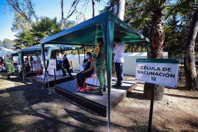 Vacunación en México.