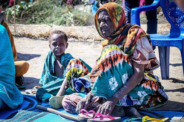 Desplazados en la provincia de Lago, en Chad