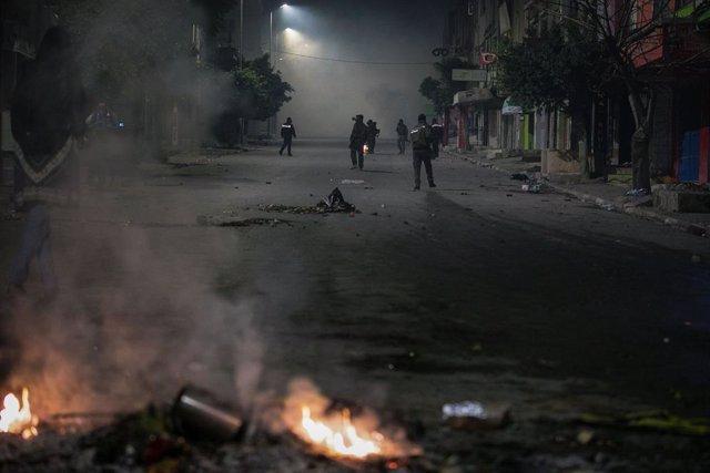 Protestas en Túnez a causa de la crisis económica en el país