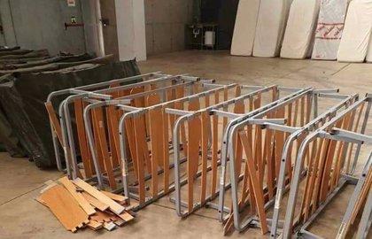 """Vox denuncia que en el hospital de campaña de Badajoz se está usando material """"de desecho"""" del Ejército y """"no sanitario"""""""