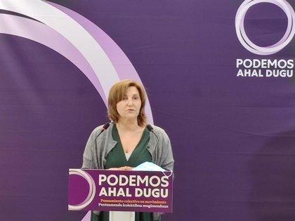 Podemos Euskadi niega que ampare los incidentes por botellones pero pide proporcionalidad en la actuación policial