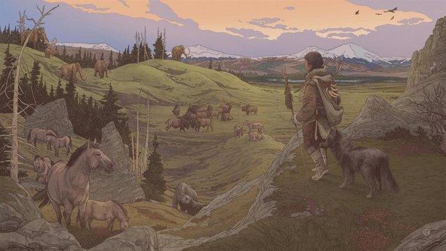 Los primeros pobladores de América iban acompañados de sus perros.
