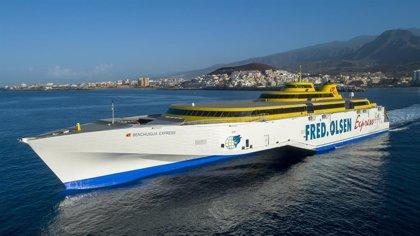 Fred.Olsen garantiza las conexiones entre La Palma y Tenerife, con escala en La Gomera de lunes a sábado