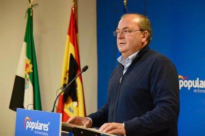 """Monago reitera que Extremadura """"está al borde del colapso"""", por lo que """"necesita la ayuda del Gobierno"""""""