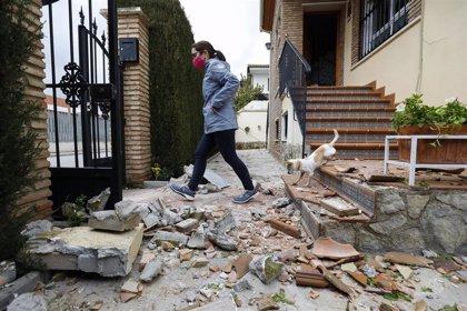 La serie sísmica en el entorno de Santa Fe (Granada) continúa con una decena de réplicas desde la madrugada