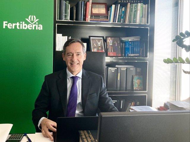 El presidente de Grupo Fertiberia, Javier Goñi