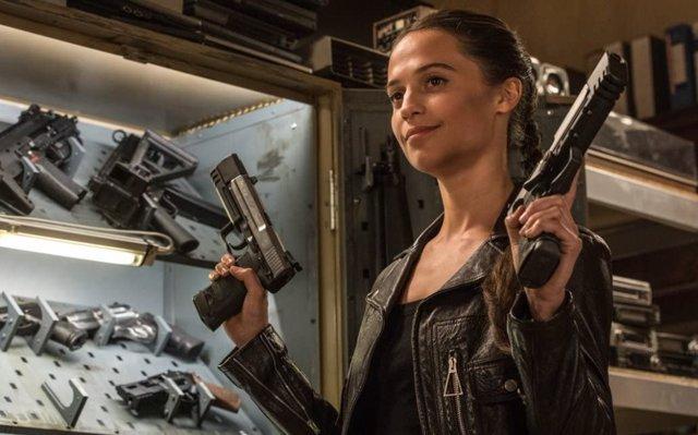 Alicia Vikander en Tomb Raider