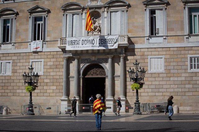 El Palau de la Generalitat (Arxiu)