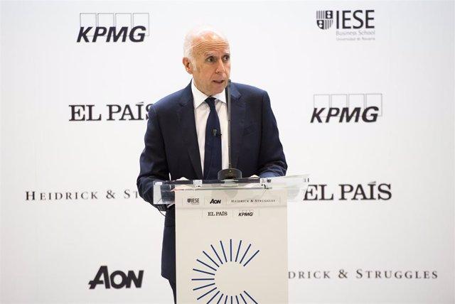 Hilario Albarracín, presidente de KPMG España, en el VI Foro del Consejero.