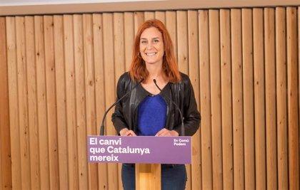 """Albiach (comuns) pide que ERC aclare si pactará con JxCat tras los tuits sobre """"limpieza de españoles"""""""