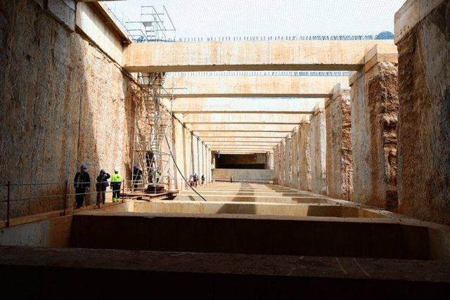 Barcelona prevé que el túnel de les Glòries pueda usarse en septiembre para salir de la ciudad