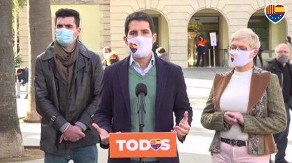 "Martín Blanco (Cs) espera que Iceta sea un ministro ""más responsable"" que Illa"