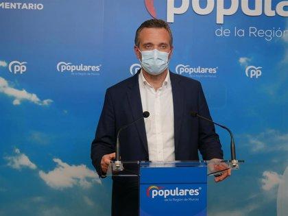 """PP Murcia: """"Que Conesa sea valiente por una vez y si tiene nombres de cargos del PP vacunados que los diga"""""""