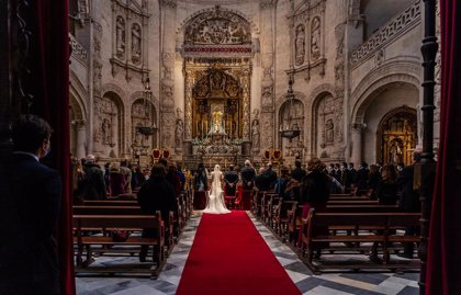Las bodas caen un 59% en Andalucía en la primera mitad de 2020 por la pandemia y pasan de unas 12.400 a 5.100