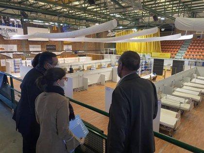 El pabellón Onze de Setembre de Lleida será centro logístico de vacunación de Covid-19