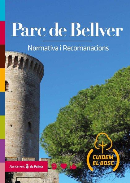 Informadores del proyecto SOIB Reactiva dan a conocer los valores ecológicos del parque de Bellver y Es Carnatge