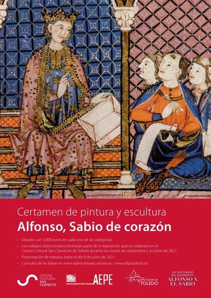 Diputación de Toledo homenajea a Alfonso X El Sabio con un certamen nacional de pintura y escultura